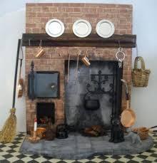 doll s house tudor meval fireplace