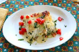 Seafood Lasagna - Mrs. Criddles Kitchen