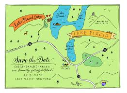 Image result for Lake Placid, New York map