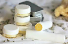 lip balm with coconut oil lavender honey