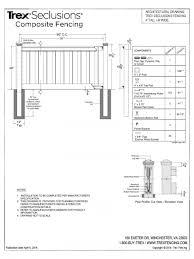 Fence Post Depth Chart Procura Home Blog
