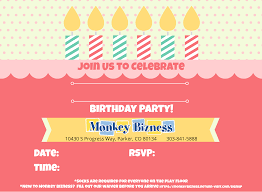 birthday party invitation card maker boy invites envelopes