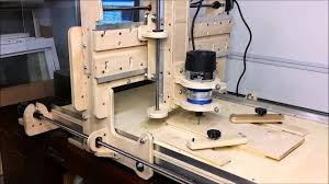 first cut on my homemade cnc router