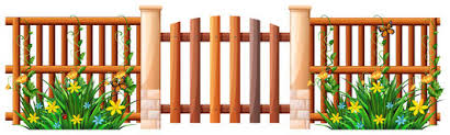 Gate Clipart Wooden Fencing Gate Wooden Fencing Transparent Free For Download On Webstockreview 2020