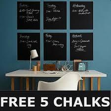 60 200cm Blackboard Removable Vinyl Wall Sticker Chalkboard Decal Chalk Board Au Ebay