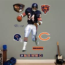 Shop Fathead Walter Payton Wall Decals Overstock 9241501