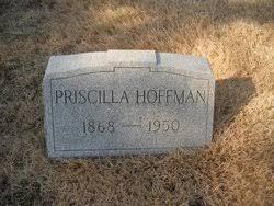 Priscilla Hoffman (1868-1950) - Find A Grave Memorial