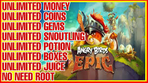 ANGRY BIRDS EPIC RPG - MOD (UNLIMITED MONEY/GEMS/COINS) - VERSION ...