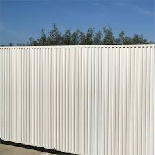 Permatimber 276 X 51 X 1800mm White Fence Panel Bunnings Warehouse