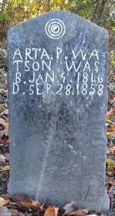 Arta Priscilla Watson (1846-1858) - Find A Grave Memorial