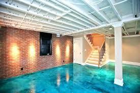 concrete basement floor paint ideas