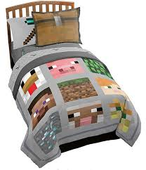 minecraft bed sets a thrifty mom