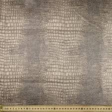 faux leather fabric pewter 150 cm