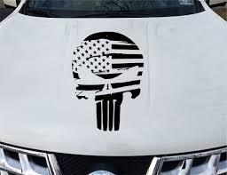 The Punisher Vinyl Decal Car Van Truck Window Sticker Monkey Feet Graphics