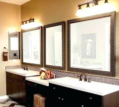 hanging wall mirrors bathroom