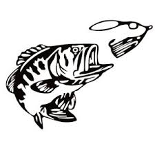 Fishing And Fish Silhouette Decals Fishing Stickers Waterfowldecals Com