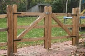 Farm Fence Gate Designs