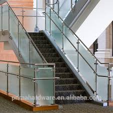 commercial glass railing barade for