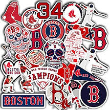 Amazon Com Red Sox Decal