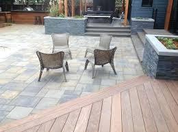 wood deck willow glen modern patio