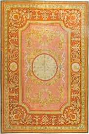 antique spanish savonnerie rug
