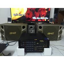 Bộ dàn Karaoke Gồm Âm ly Jarguar PA 506N + Đôi loa BMB CSX 1000 bass 30