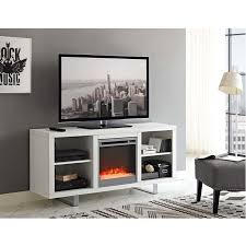 modern fireplace tv stand