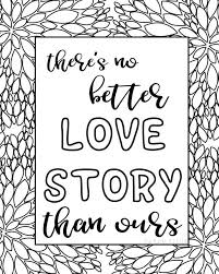 coloring page quote coloring sheets printable quotes love