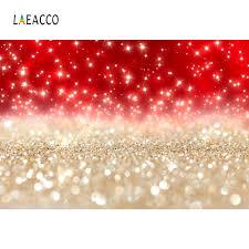 Laeacco بريق لامعة الأحمر منقطة ضوء خوخه حزب الطفل الوليد صورة