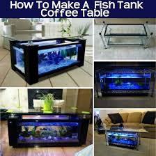 fish tank coffee table diy craft crafts
