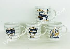 12oz New Bone China Mug With Golden Decal Bulk Packing Father S Day