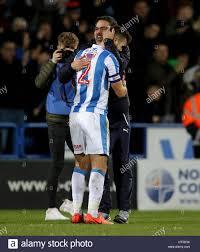 Huddersfield Town Manager David Wagner mit Spiel Gewinner ...