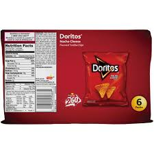 nacho cheese doritos small bag