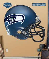 Fathead Seattle Seahawks Football Helmet Wall Decal Set Zulily
