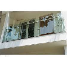 glass balcony railing at rs 1500