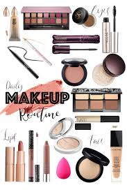 mind my daily makeup routine