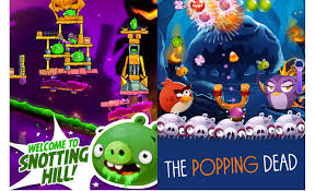 Angry Birds 2 and Angry Birds Pop Halloween-ified in new update - Android  Community
