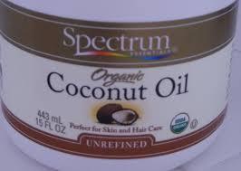 using organic coconut oil
