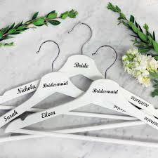 Wedding Hanger Decals For That Personalised Touch To Your Wedding Morning