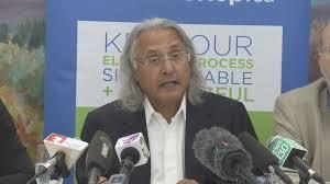 Former B.C. premier Ujjal Dosanjh pushes for 'No' vote against Proportional  Representation | Globalnews.ca