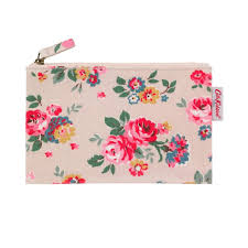 cath kidston wells rose zip purse