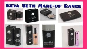 keya seth makeup list you