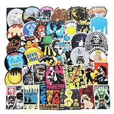 Intensely Hued Laptops Computers Skateboard Etc Cars Durable Phone 80 Piece Waterproof Best For Water Bottles Vinyl Decal Sticker Stranger Things Stickers Skins Decals