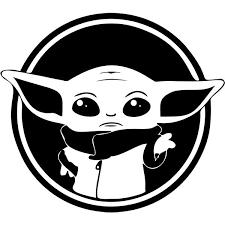 Baby Yoda Star Wars Decal Sticker Baby Yoda Star Wars Decal