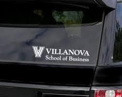 Villanova Decal Etsy