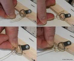 hang your painting using wire and d