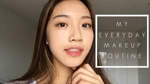 korean natural makeup routine