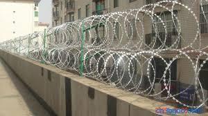 China Ce And Sgs Good Sale Galvanized Concertina Razor Wire For Fence China Razor Barbed Wire Razor Wire