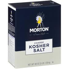 morton co kosher salt 48 oz