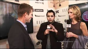 Aaron Eckhart interview at the 2011 Independent Spirit Awards Live ...